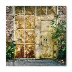 Metal Kapı ve Duvar Bandana Fular