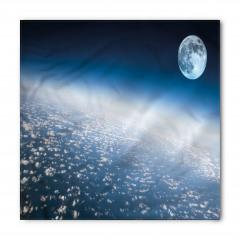 Ay ve Dünya Atmosferi Bandana Fular