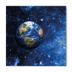 Dünya ve Yıldızlar Bandana Fular