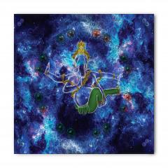Mavi Mitolojik Fil Desenli Bandana Fular