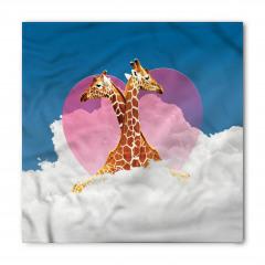 Zürafa Aşkı ve Bulutlar Bandana Fular
