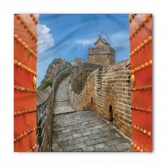 Çin Seddine Açılan Kapı Bandana Fular