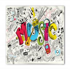 Müziğin Coşkusu Bandana Fular