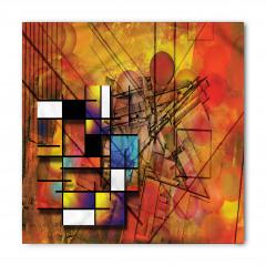 Sanatsal Geometrik Bandana Fular
