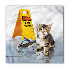 Uçan Daire ve Kedi Bandana Fular