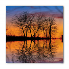 Yaprak Dökmüş Ağaçlar Bandana Fular