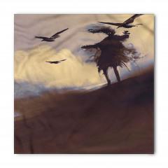 Çölde Uçan Kargalar Bandana Fular