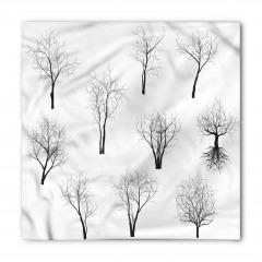 Sonbahar Ağaçları Bandana Fular