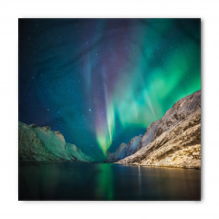 Norveç Kuzey Işıkları Bandana Fular