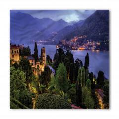 Como Gölü'nde Akşam Bandana Fular