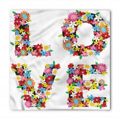 Aşk Çiçekleri Bandana Fular