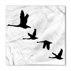 Gökyüzünde Uçan Kuşlar Bandana Fular