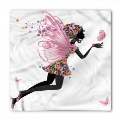 Kelebek Kanatlı Kız Bandana Fular