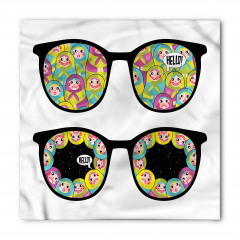 Gözlükteki Matruşkalar Bandana Fular