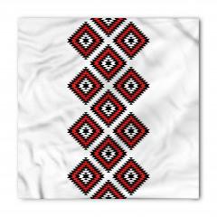 Şık Aztek Desenli Bandana Fular