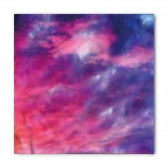 Pembe ve Mor Bulutlar Bandana Fular