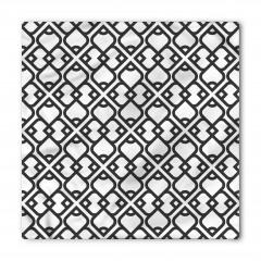 Dekoratif Arap Desenli Bandana Fular