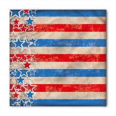 Kalpli Amerikan Bayrağı Bandana Fular