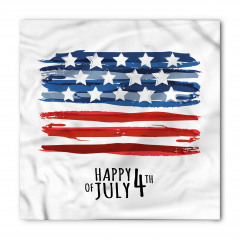 Dört Temmuz Kutlaması Bandana Fular