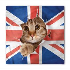 Bayrak ve Kedi Bandana Fular
