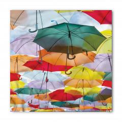 Rengarenk Şemsiyeler Bandana Fular