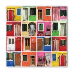 Rengarenk Kapılar Bandana Fular
