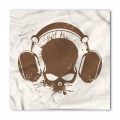 Kulaklıklı Kuru Kafa Bandana Fular