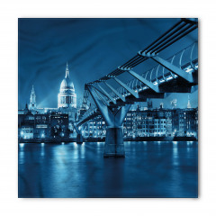 Modern Köprü ve Şehir Bandana Fular