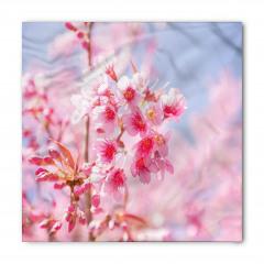 Pembe Çiçek Cümbüşü Bandana Fular