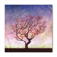 Rüzgarın Eğdiği Ağaç Bandana Fular