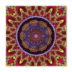 İç İçe Renkli Mandala Bandana Fular