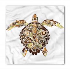 Kahverengi Kaplumbağa Bandana Fular