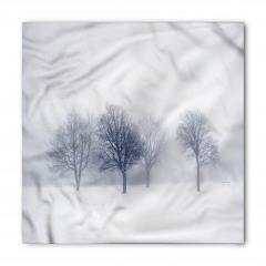 Karlı Ormanda Bir Gün Bandana Fular