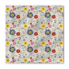 Yusufçuk Çiçek ve Kelebek Bandana Fular