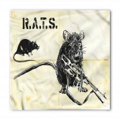 Silahlı Sıçan ve Fare Bandana Fular