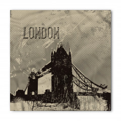 Nostaljik Londra Bandana Fular
