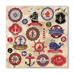 Denizcilik Sembolleri Bandana Fular