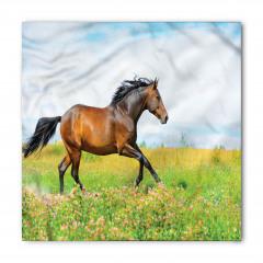 Kırda Koşan At Bandana Fular