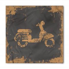 Nostaljik Motosiklet Bandana Fular