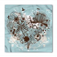 Kalpli Çiçek Demeti Bandana Fular