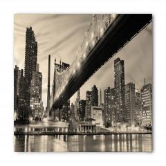 Köprü ve Gökdelen Temalı Bandana Fular