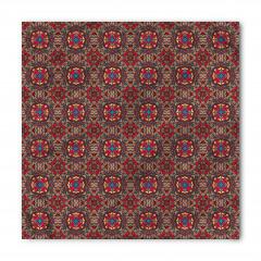 Kırmızı Sekizgenler Bandana Fular