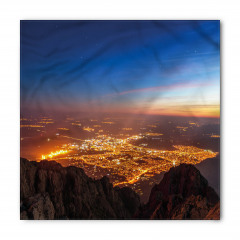Altın Şehir Manzarası Bandana Fular