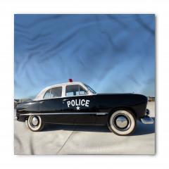 Nostaljik Polis Arabası Bandana Fular