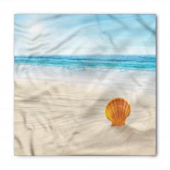 Kumdaki Deniz Kabuğu Bandana Fular