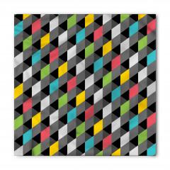 3D Diyagonal Karolar Bandana Fular