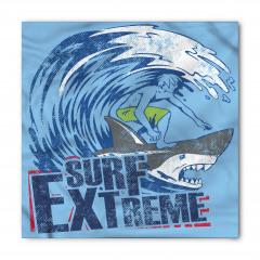 Köpek Balığında Sörf Bandana Fular