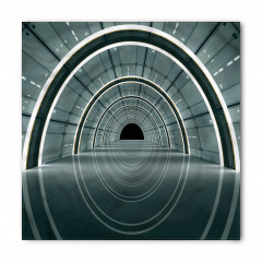 3D Koridor Desenli Bandana Fular