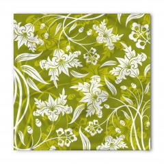 Romantik Dekoratif Çiçekler Bandana Fular