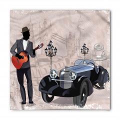 Sokak Müzisyeni ve Araba Bandana Fular